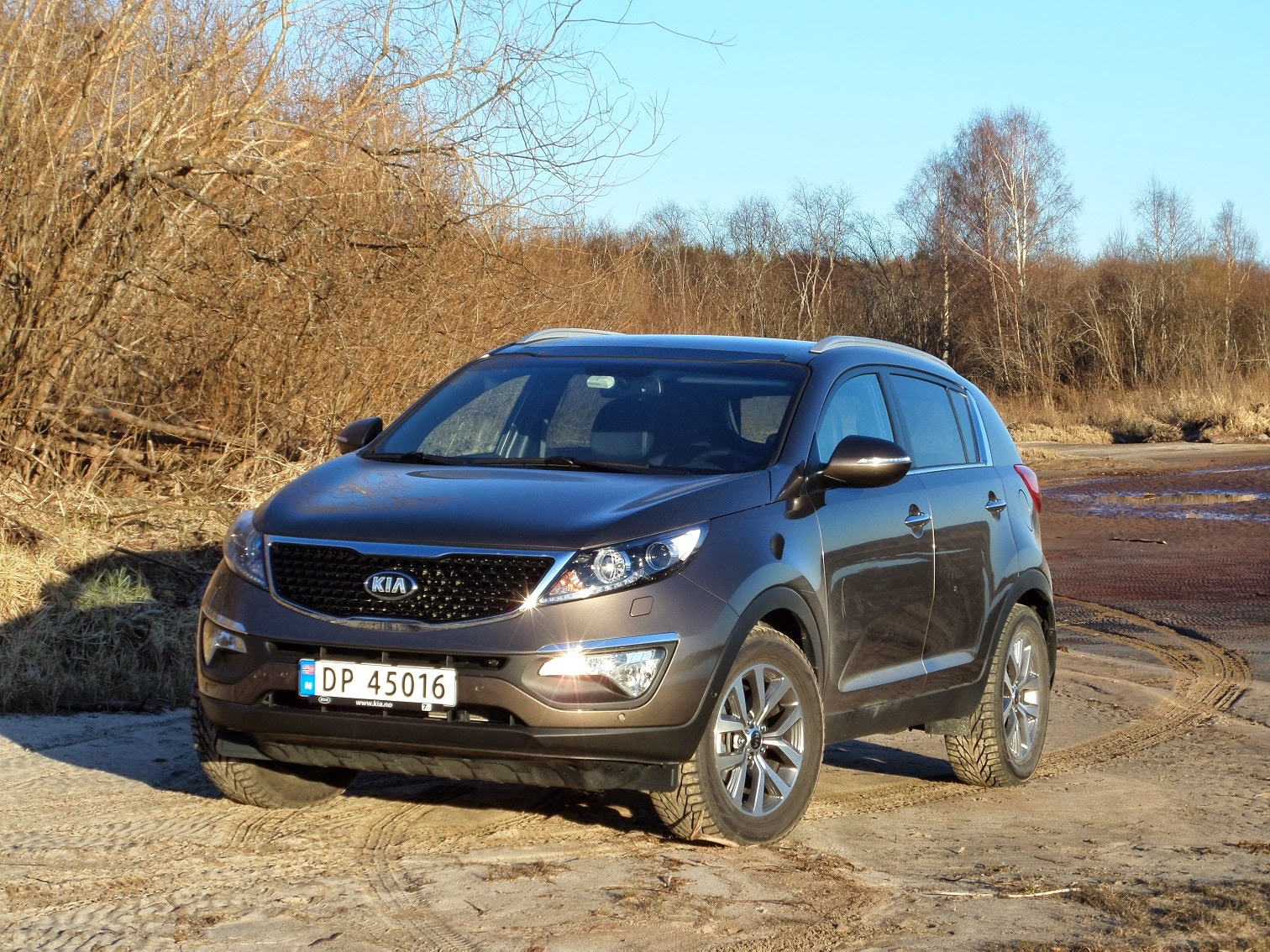 test kia sportage 1 6 gdi 2wd exclusive bil og motorbloggen. Black Bedroom Furniture Sets. Home Design Ideas