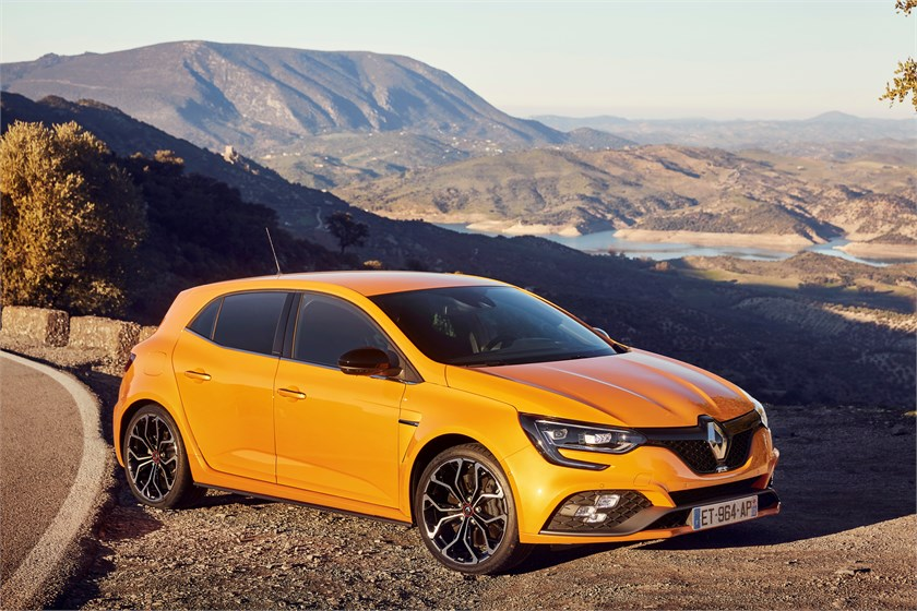 2018 essais presse nouvelle renault megane r s chass s sport en espagne bil og motorbloggen. Black Bedroom Furniture Sets. Home Design Ideas